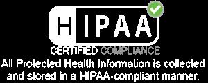 hipaa-white-logo
